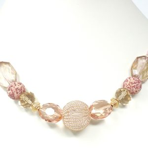 perfect pink necklace