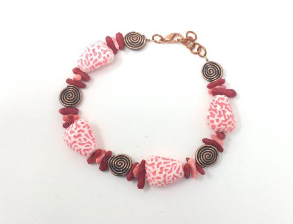 Bamboo Coral Bracelet