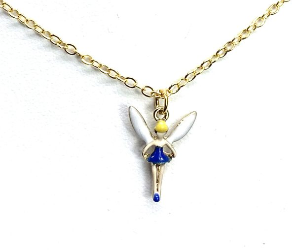 Children's Tiny Tinkerbell Fairy Necklace