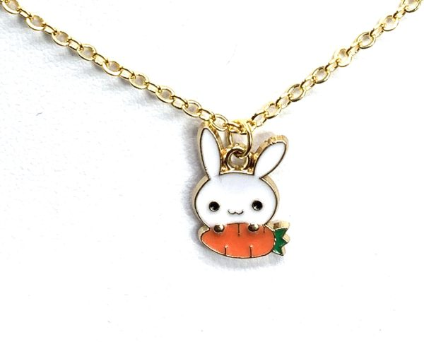 Children's Bunny Necklace