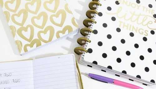 Little Things Budget Planner