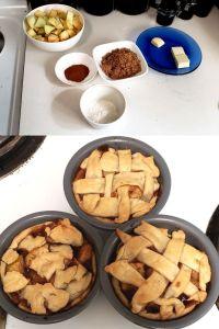 Apple Pie Baking