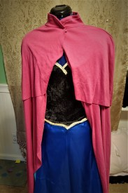 Anna costume with cape