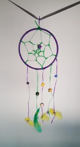 kid's dreamcatcher craft kit