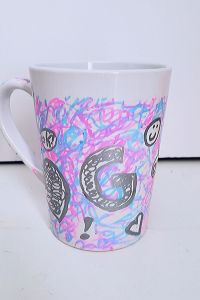 Personalized Sharpie Mug Kid-Made Gift