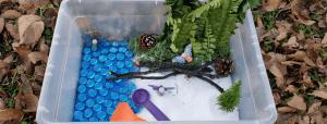 fairy garden sensory play