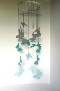 Butterfly Mobile For Classroom Decoration