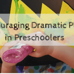 Encouraging Dramatic Play and Pretend in Preschoolers with a Craft!
