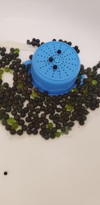 Stop water beads from going down the drain
