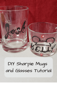 DIY Sharpie Mugs and Glasses Tutorial(3)