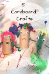 cardboard people craft