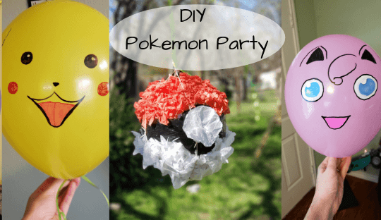 DIY Pokemon Party