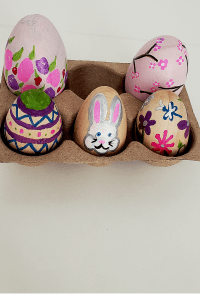 Easy Painted Easter Eggs