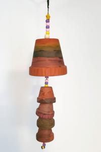 Terracotta Pot Windchime