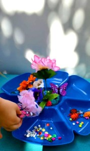 butterfly playdough activity