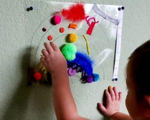 Contact Paper Rainbow Craft