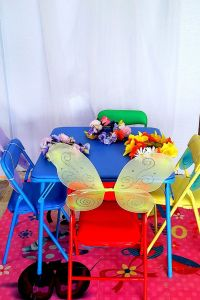 fairy party table decorations