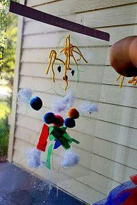 Scarecrow Contact Paper Halloween Craft