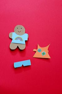 paper doll craft kit