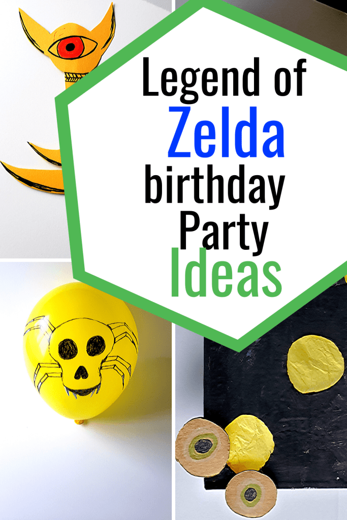The Legend of Zelda Birthday Party Ideas