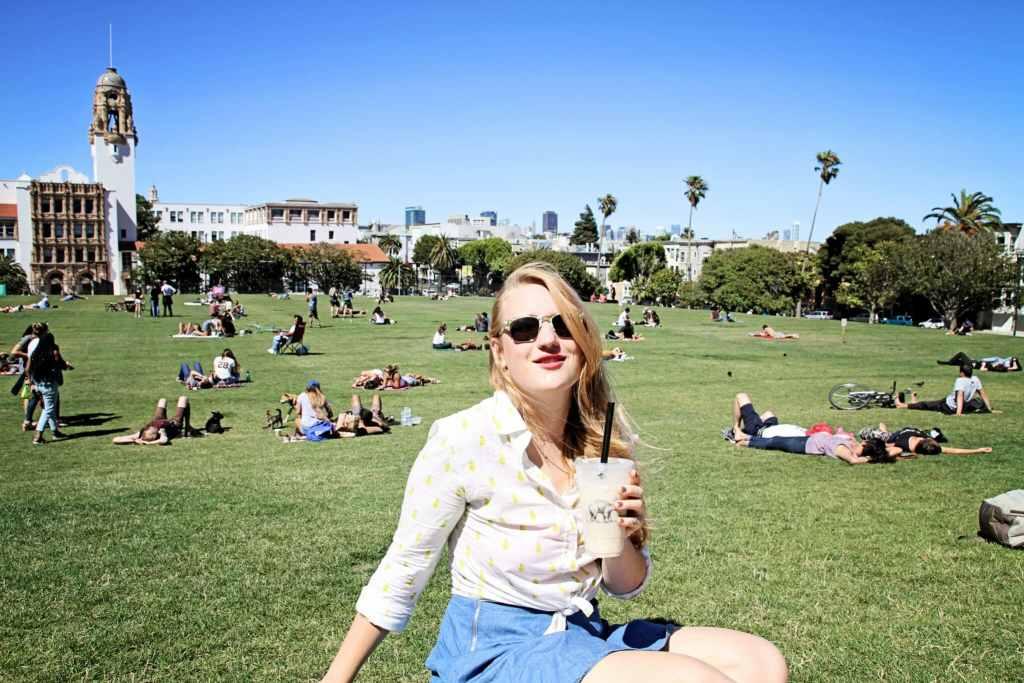 Dolores Park - Whimsy Soul, San Francisco blogger