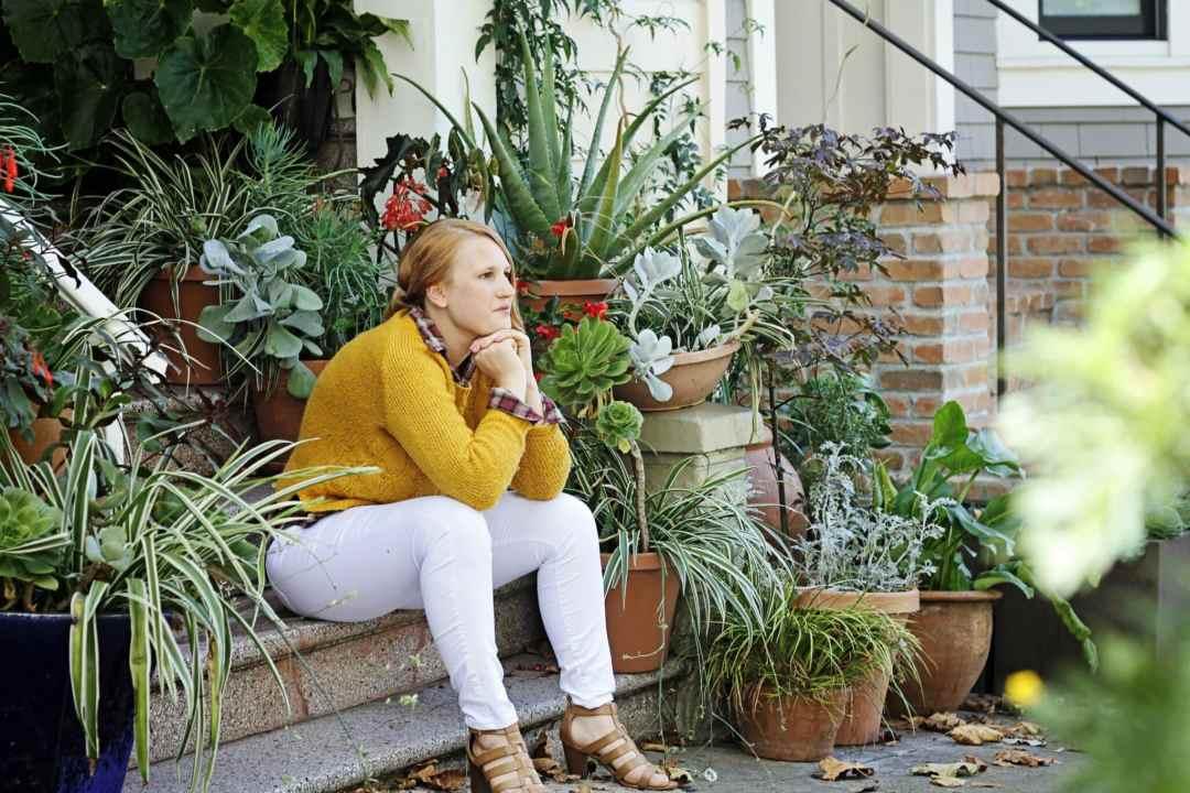 plaid shirt, yellow sweater, fall fashion
