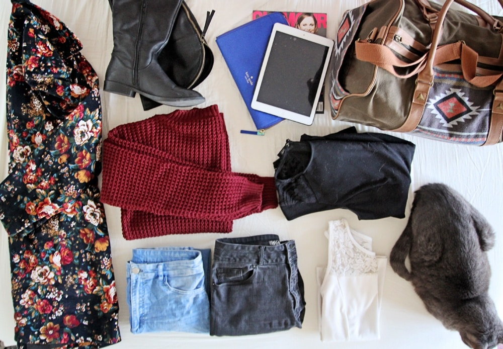 Packing Tips For A Weekend Away