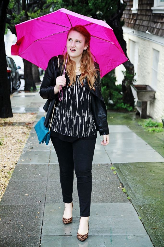 Whimsy Soul, San Francisco Rainy Fashion outfit