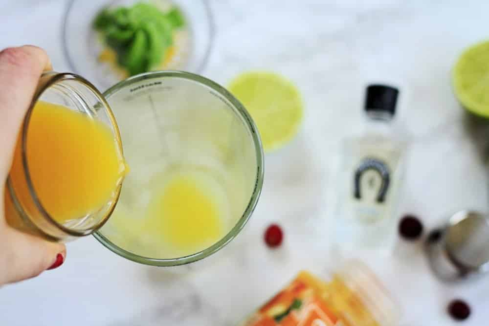 Tequila and orange juice cocktail recipe