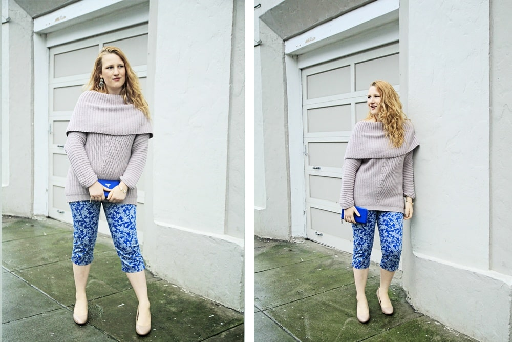 Blush Sweater, Floral Pants - Whimsy Soul