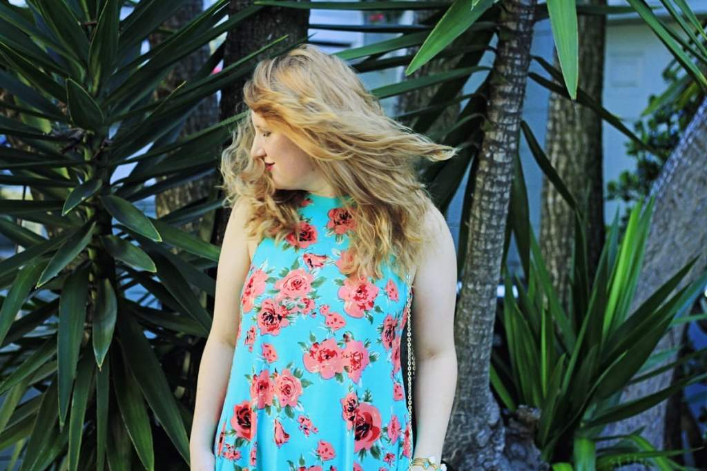Cole Valley walk in a floral dress - Whimsy Soul