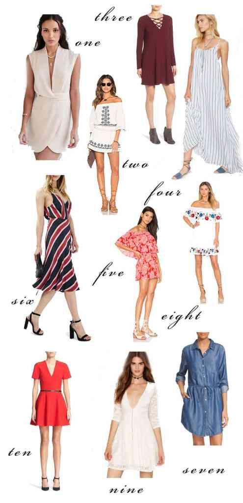 10 Fabulous Dresses