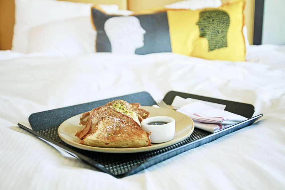Juniper Hotel in Cupertino - room service eggy bread
