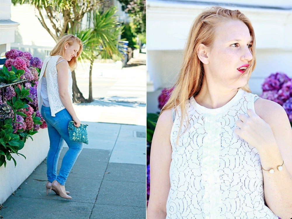 lotocao lace blouse