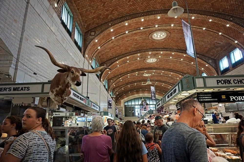 Westside Market in Cleveland