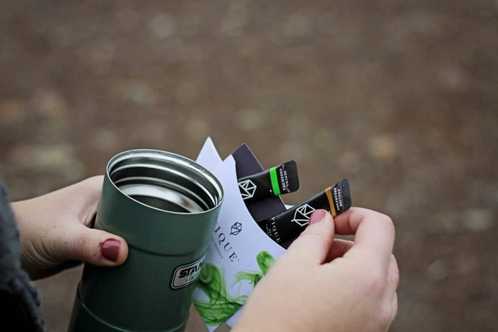 Pique Tea for hiking