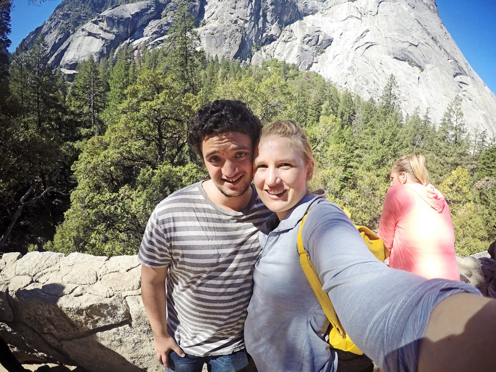 GoPro in Yosemite Vernal Falls