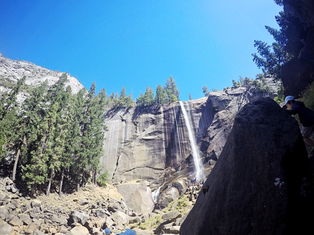 GoPro at Vernal Falls