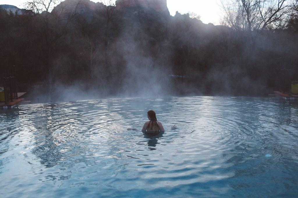 Amara Resort headed pool in Arizona