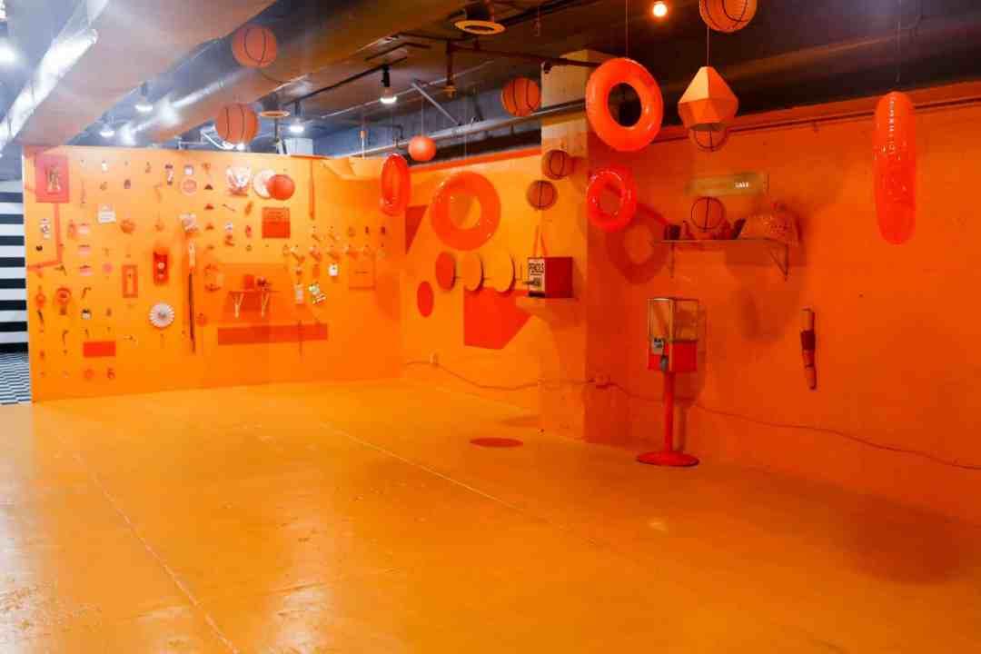 Color Factory orange room san francisco