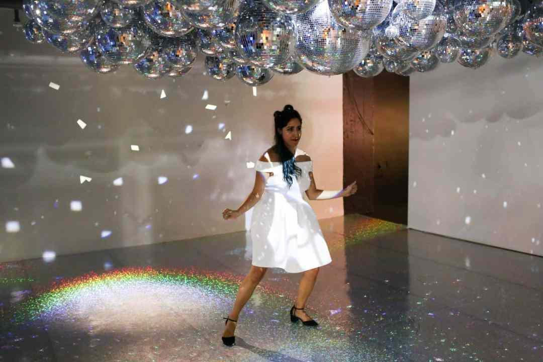 Color Factory disco room san francisco