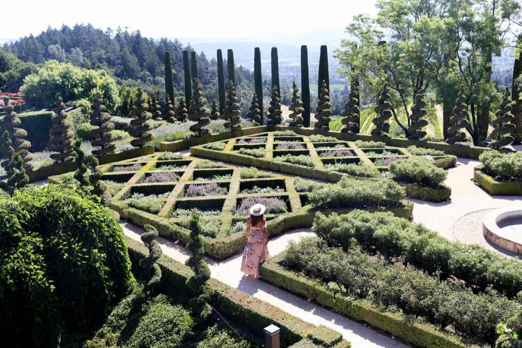 This Magical Hedge Maze Is A Winery In Napa Valley