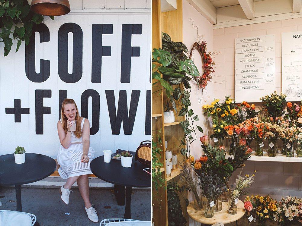coffee and flowers, Communal Coffee San Diego