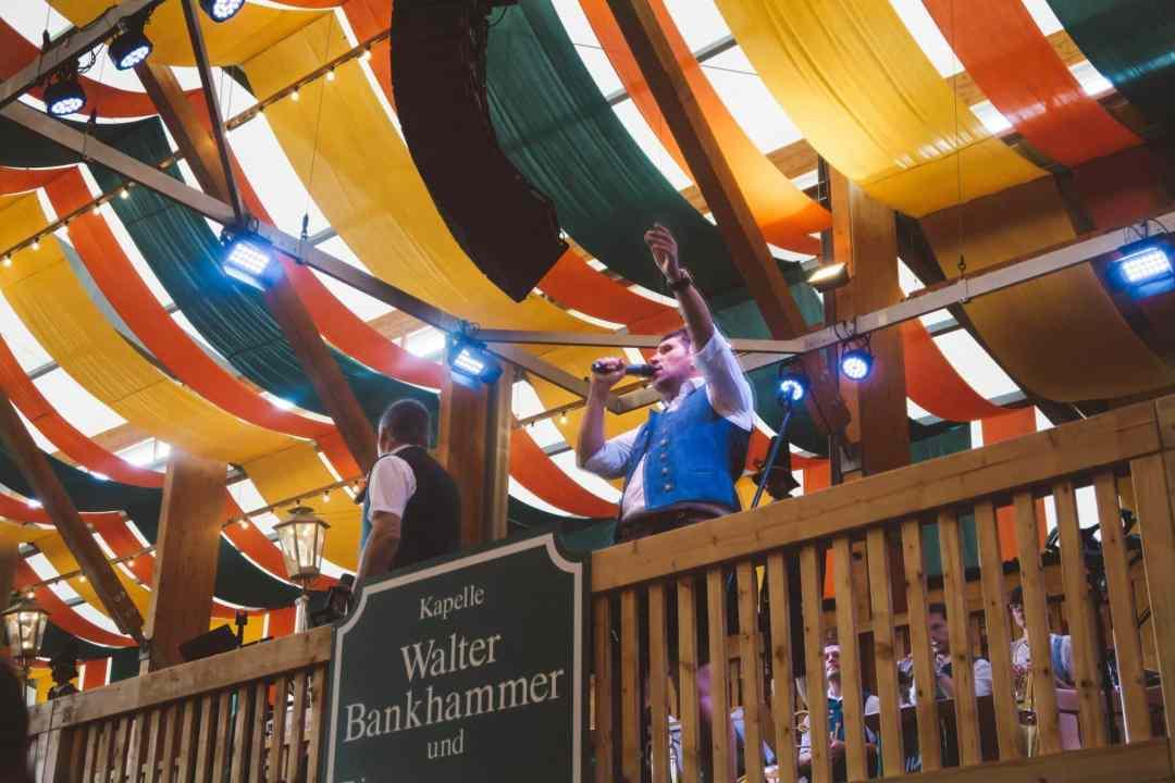 Oktoberfest Munich signing tent