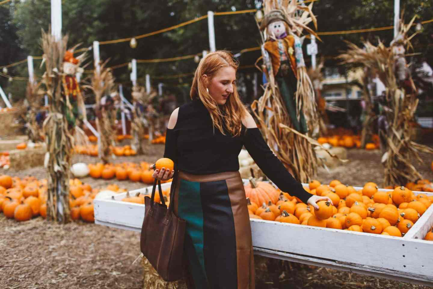 pleated skirt who what wear target pumpkin patch
