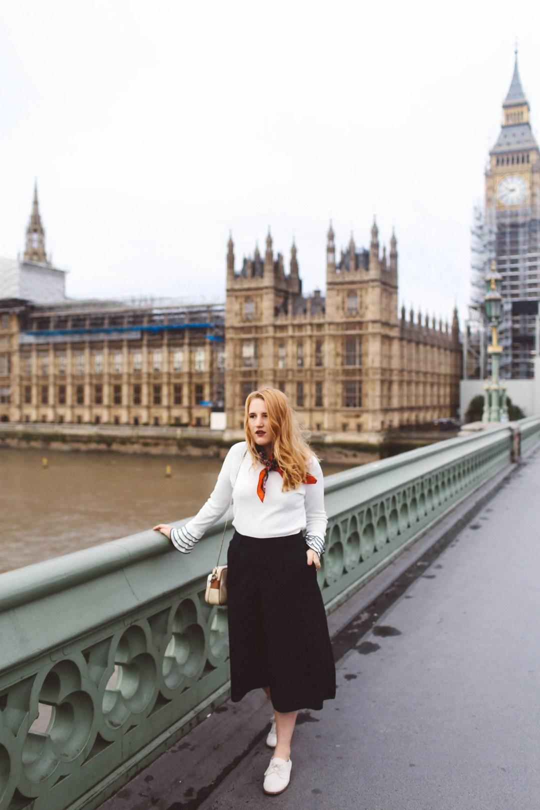 london big ben woman fashion