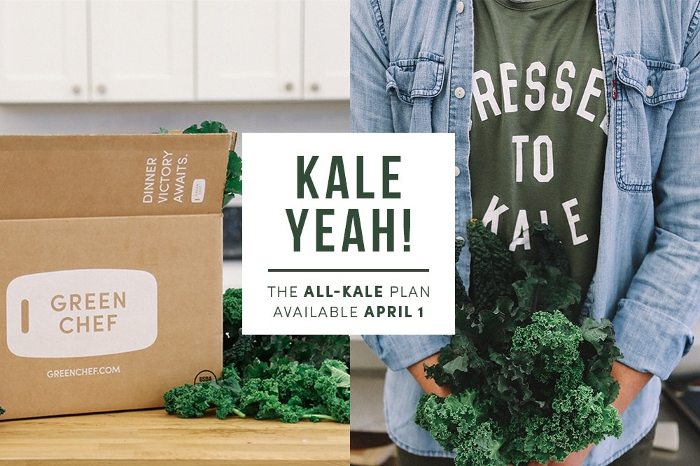 green chef kale plan
