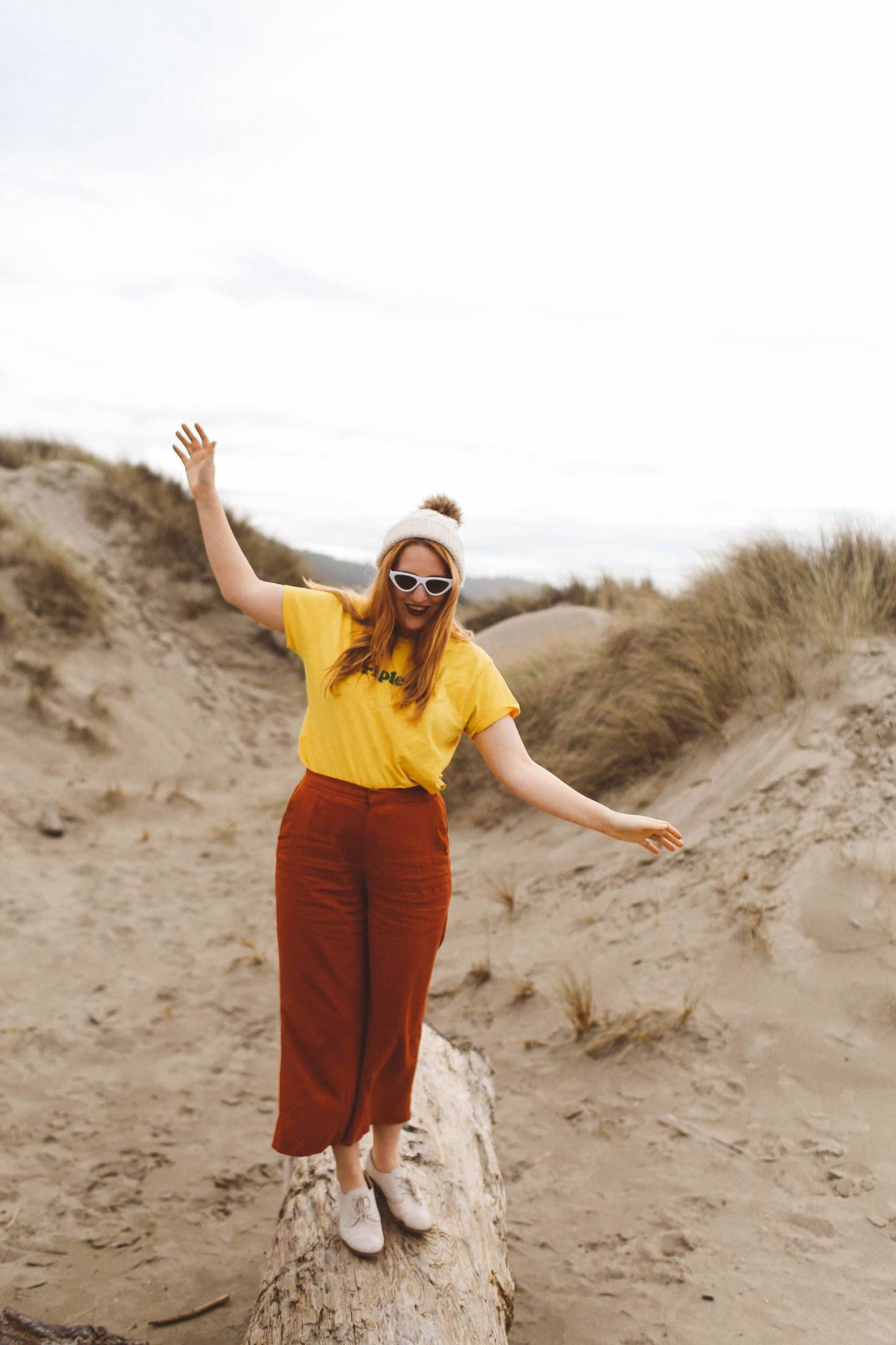 oregon dunes fashion woman vintage shirt
