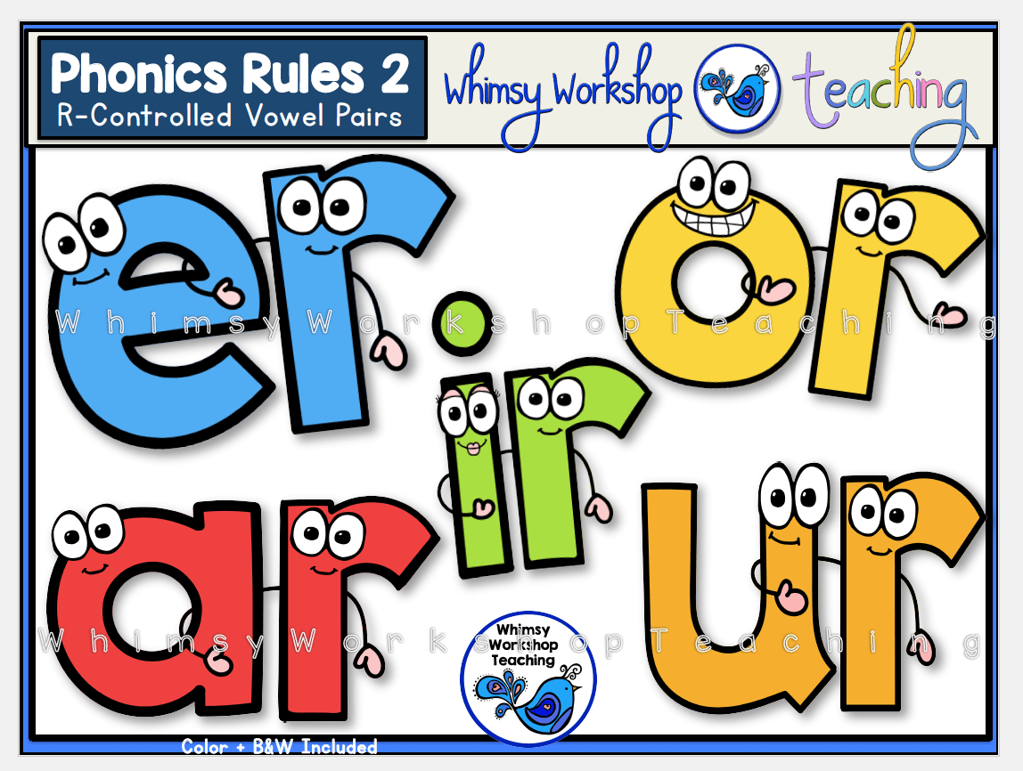 Phonics Rules 2 R Controlled