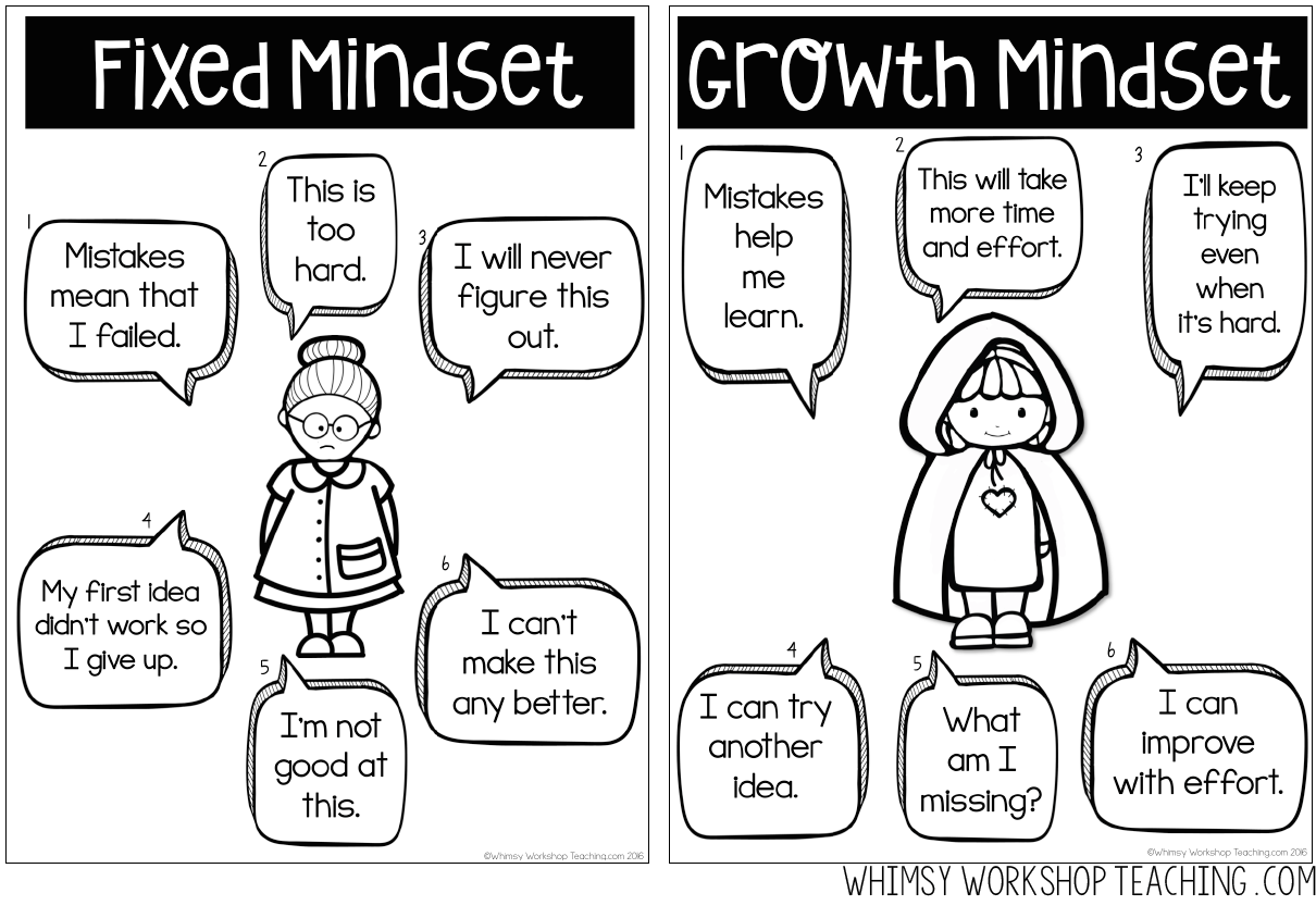 Read about how STEM and Growth Mindset can be taught
